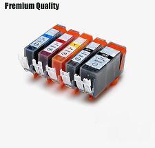 5 XL Ink Cartridges For PGI550 CLI551 Canon Pixma MG5550 MG6450  MG5400 MG5450