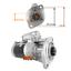 Anlasser-fuer-Komatsu-Hitachi-WA65-5-WA70-5-WA80-5-4D95L-600-863-1450-S13-558 Indexbild 2