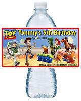 20 Toy Story Birthday Party Favors Water Bottle Labels Room Design