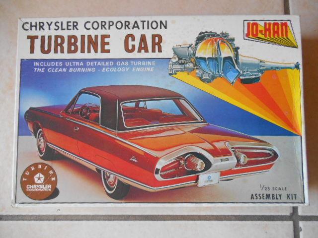 RARE JOHAN CHRYSLER TURBINE CAR UNBUILT