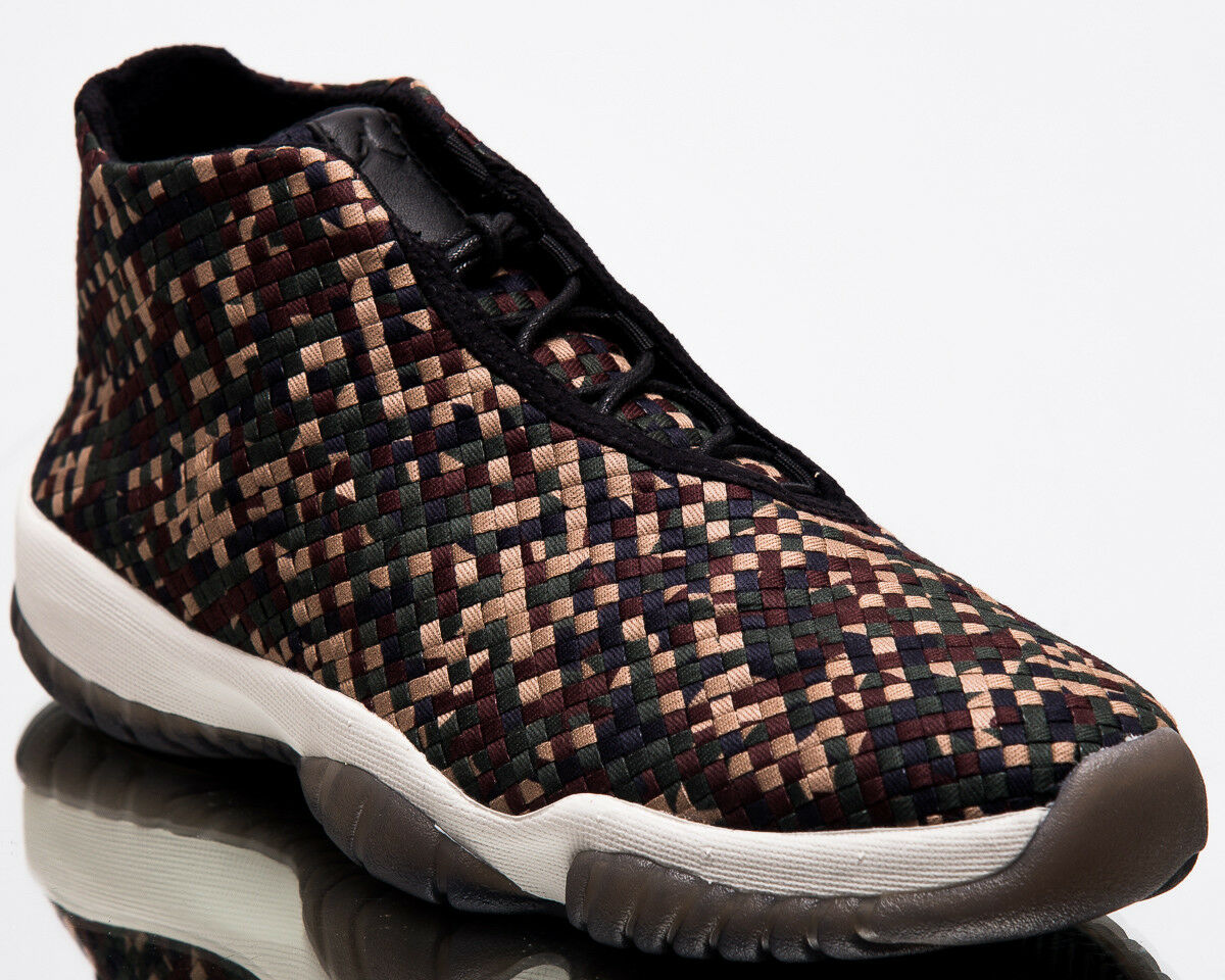 Air Jordan Future Premium Camo Men New Lifestyle Dark Army Sneakers 652141-301