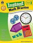 Instant Math Practice Grade 3 by Damon James (Paperback / softback, 2013)