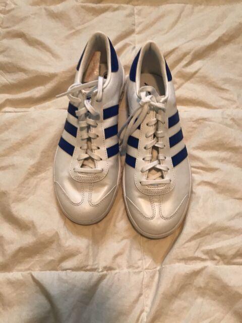 Size 9 - adidas Hamburg White Bold Blue
