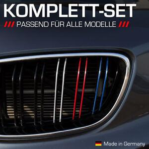 Nierenaufkleber für alle BMW Autos Dunkelblau Rot Weiß Hellblau Nieren Aufkleber