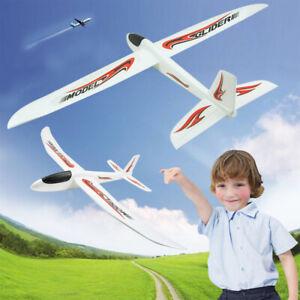 Schiuma per Bambini Aeroplano Aereo Modello Giocattolo all'aperto LANCIO A MANO GIOCO LANCIO AEREI