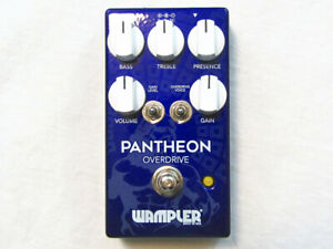 Used Wampler Pantheon Overdrive Guitar Effects Pedal