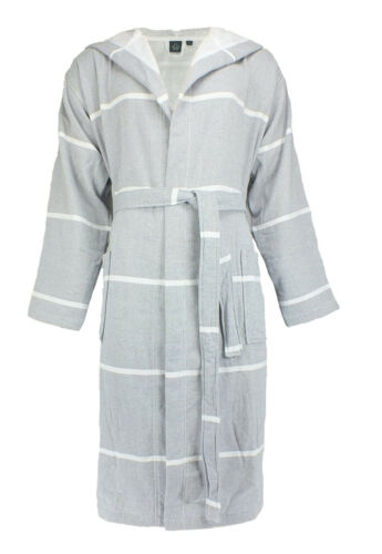 Grey Unisex Coat Wewo Robe 2800240 Sauna Dressing wAqn8FH