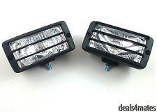 E-MARKED 2X 12V 4X4 OFFROAD BULL BAR ROOF FOG SPOT LIGHT LIGHTS LAMP