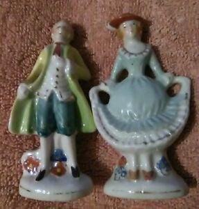 Vintage Porcelain Figurines Victorian Couple Occupied Japan 4 Ebay