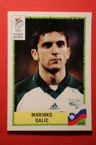 256 SLOVENIJA GALIC TOP MINT WITH GREEN BACK Panini EURO 2000 N