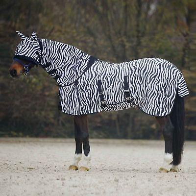 Cavallo Pony Collo Pieno Fly Foglio Estate Belly Coperchio Di Protezione Uv Combo Tappeto E Maschera- Meno Caro