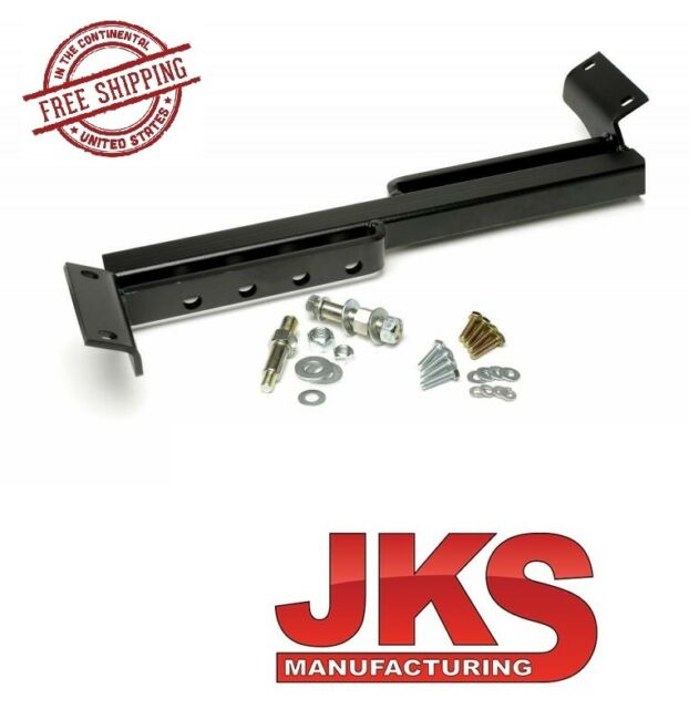 JKS OGS999 Rear Adjustable Cross-Over Shock Mount Kit for Jeep XJ