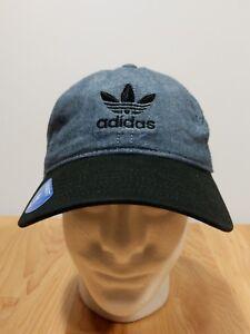 Image is loading adidas-Originals-Trefoil-Plus-Precurve-Strap-Back-Cap- 373655123e50
