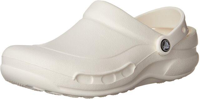 Crocs Unisex Adult Specialist Clogs, White, New,