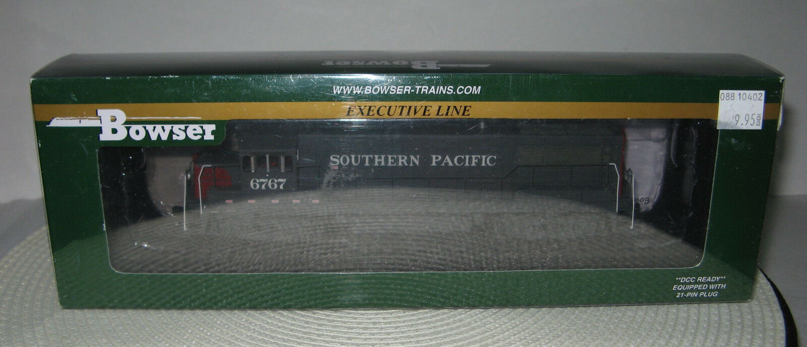 HO Bowser GE U-25-B SP 6767 Locomotive Southern Pacific  24561 DCC Ready w/Box