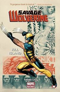 Savage-Wolverine-Vol-1-Kill-Island-by-Frank-Cho-2014-TPB-Marvel-Now-NEW
