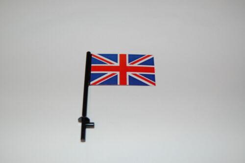 Custom Figuren Flagge Fahne Banner Union Jack  United Kingdom für LEGO® Figuren