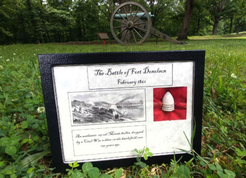 Authentic Battle of Fort Donelson 1862 .69cal Minnie Ball