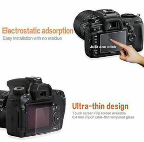 Protezione Schermo in Vetro Fotocamera per Canon PowerShot G7X MKII UK Venditore
