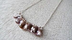 Ametrine, Sterling Silver, Necklace, Jewelry