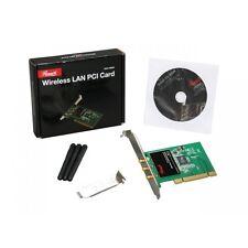 Rosewill PCI 300Mbps 300M 802.11b/g/n Wireless WiFi Card Adapter Desktop PC