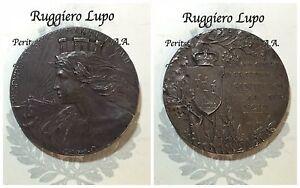 Medaille-San-Marino-1907-A-Souvenir-Dell-039-Arengo-General-1906-Opus-Ortolani