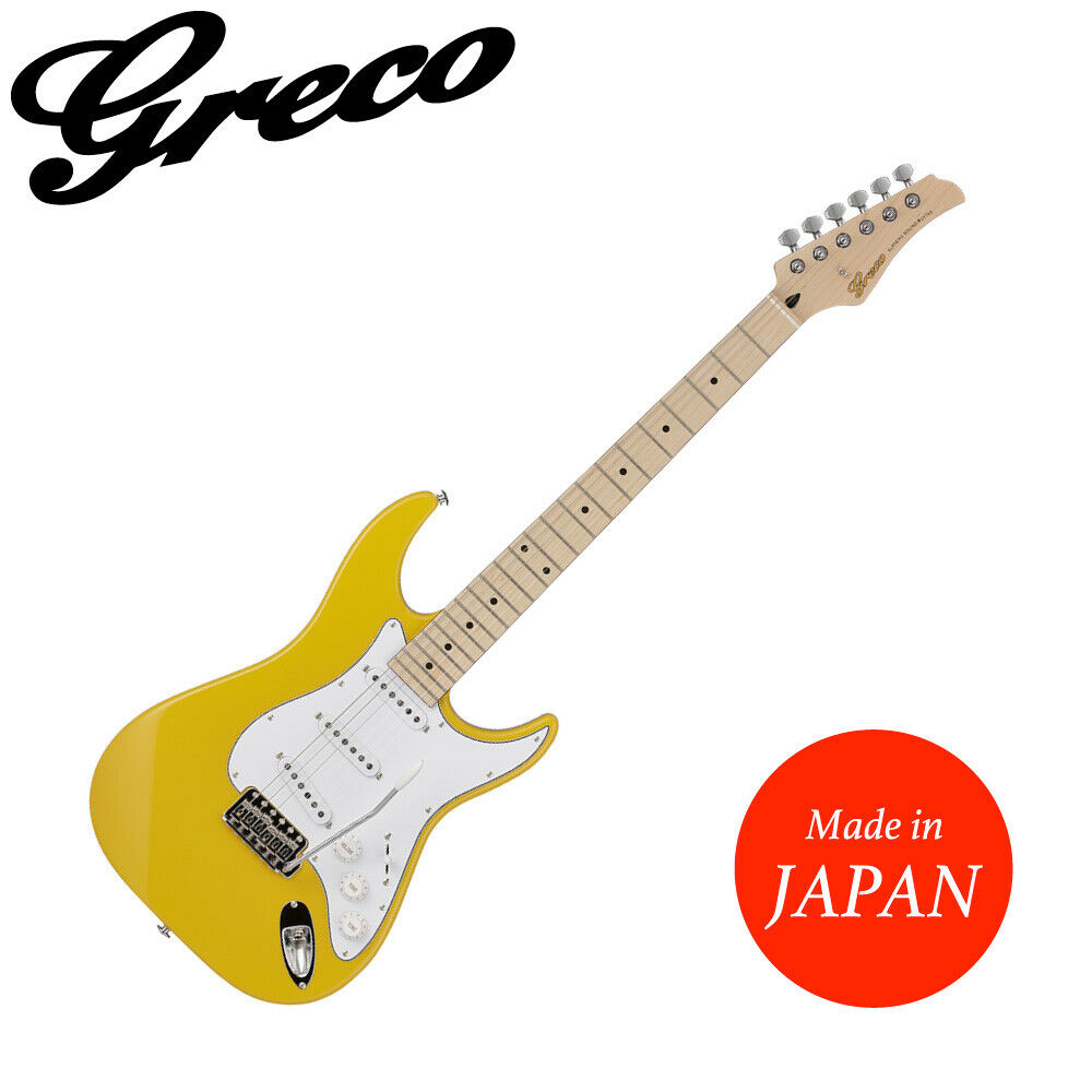 GRECO WS-STD YL diapasón de arce guitarra guitarra guitarra eléctrica hecha en Japón f1bae8