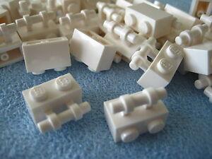 LEGO Bausteine & Bauzubehör 30236 LEGO® 10x Stein 1x2 mit Griff weiß 4140626 Baukästen & Konstruktion