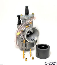 NEW carburetor 30mm for 2 stroke racing flat side part carb
