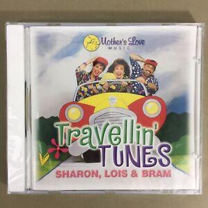 Travellin-Tunes-kids-children-34-fun-songs-music-CD-Sharon-Lois-Bram-new