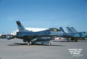 Original-slide-85-404-Lockheed-F-16D-U-S-Air-Force-USAF-194FS-1999