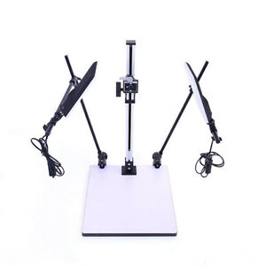 Photography-LED-16W-Copy-Stand-For-DSLR-Camera-Macro-Studio-Photo-Video-Shoot