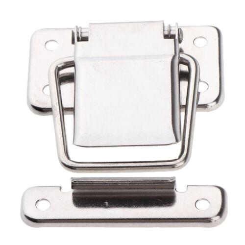 Boat Swivel Eye Locking Hasp Latch Hardware Stainless Steel Flat Buckles