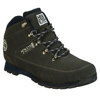 HENLEYS BOOTS MENS CHARCOAL GREY HIKERS
