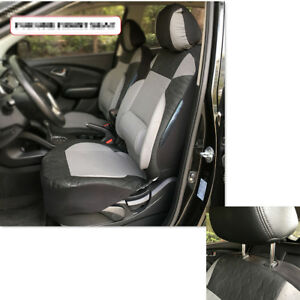 2x CAR FRONT SEAT COVERS PROTECTOR For Peugeot Partner