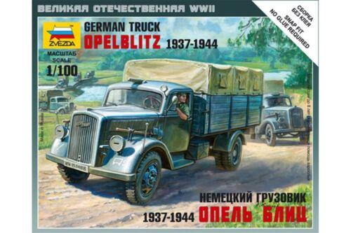 1944 ZVEZDA 6126 1//100 German truck Opel Blitz 1937