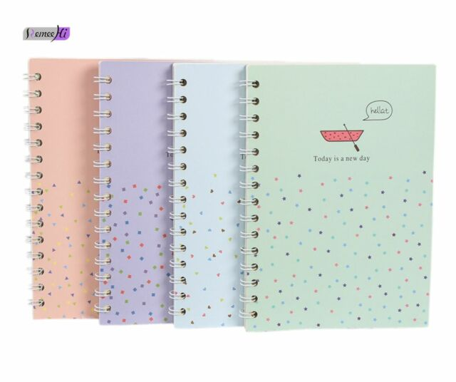 1pc korean cute thicken hardcover notebook drawing diary book blank