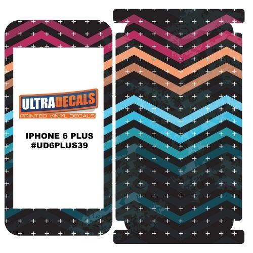 Skin decal sticker wrap 3m vinyl for iphone 6 6s plus seamless pattern poligoa