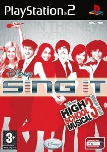 DISNEY-SING-IT-HIGH-SCHOOL-MUSICAL-3-SENIOR-YEAR-PS2-SONY-NUOVO-ITALIANO