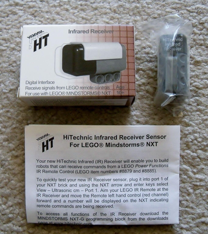 LEGO Mindstorms NXT Technic - Rare - HiTechnic InfraROT Receiver NIR1032 - New
