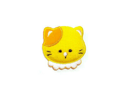 Crafts Cat Puffy Design Iron On Applique Patch Childrens Kitten