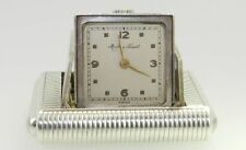 Antique 925 Sterling Silver Mathey Tissot half hunter mechanical Table Watch