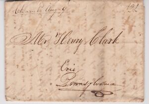 OHIO-034-Cleavel-O-Aug-9-034-Manuscript-1822-FL-Cleaveland-Green-Bay-M-T-to-Erie-PA
