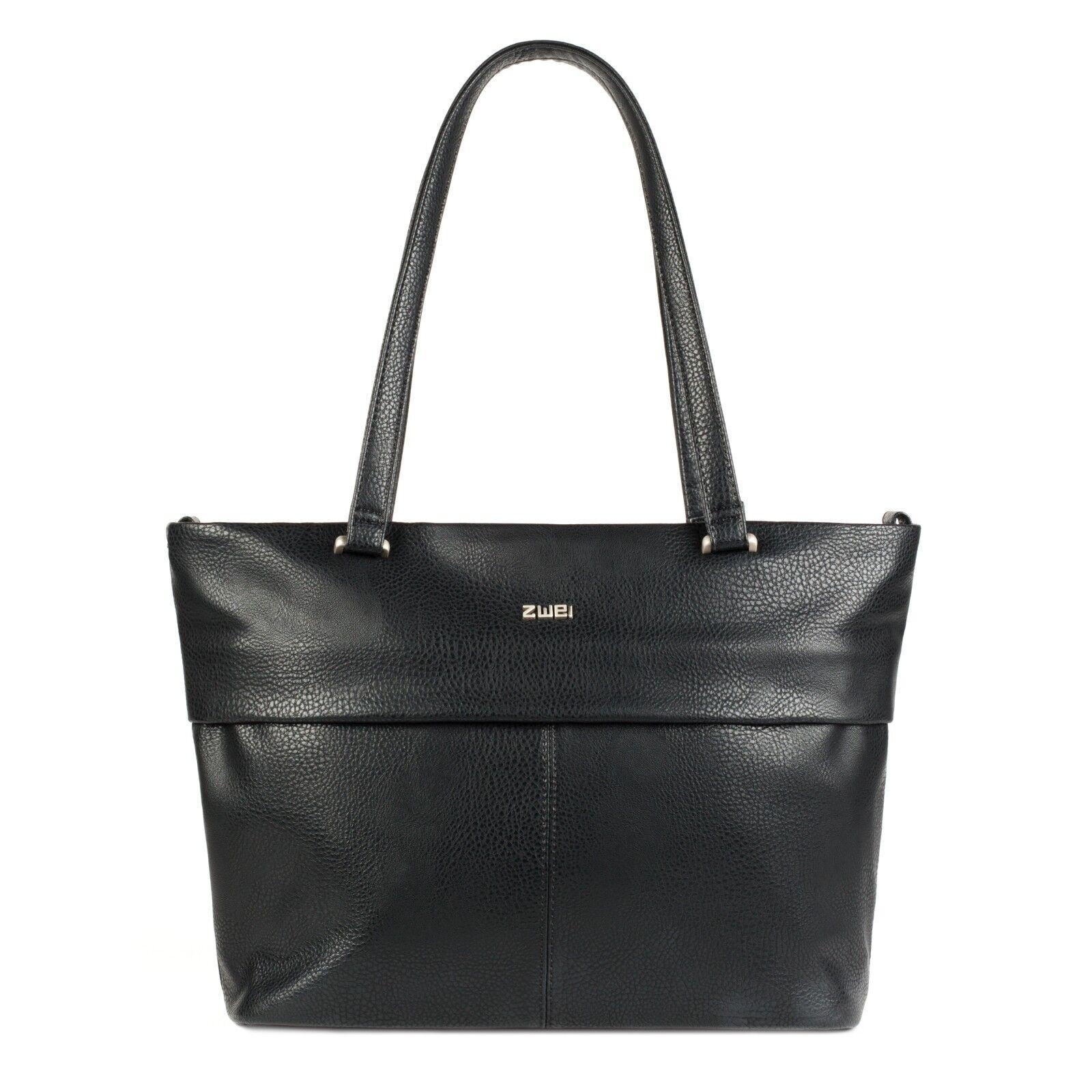 ZWEI Mademoiselle Mademoiselle Mademoiselle M15 schwarz schwarz Neu Shopper Tasche Schultertasche |   92db00