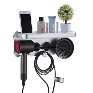 Large-Wall-Mount-Bathroom-Holder-Hanger-Storage-For-Dyson-Supersonic-Hair-Dryer
