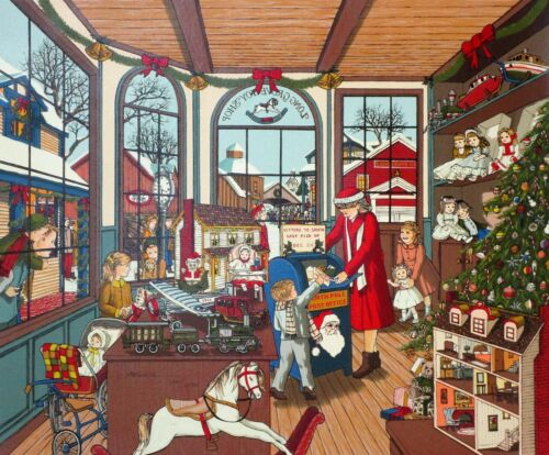 Toy Store H. Hargrove Letters to Santa