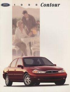 1993 Ford Escort Original CDN Sales Brochure Book