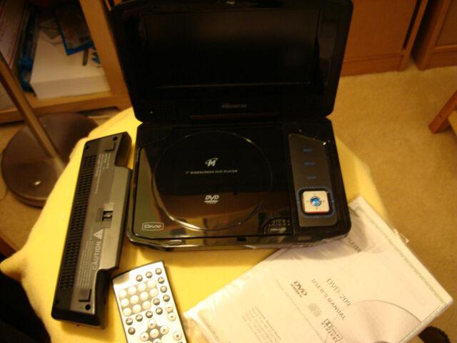 memorex mvdp1077 portable dvd player 7 ebay rh ebay com
