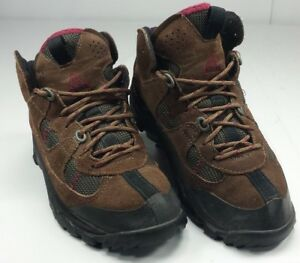 Nike-Air-Women-s-ACG-Ankle-Hiking-Boots-Brown-Suede-Leather-EUC-Size-8-EUR-39