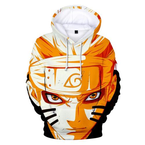 Naruto 0 Manga Hoodies Uzumaki Kakashi Sasuke Naruto Gaara Sweat à capuche